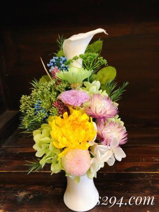 プリザーブド仏花